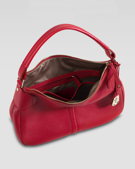 Rounded Hobo Bag, Small