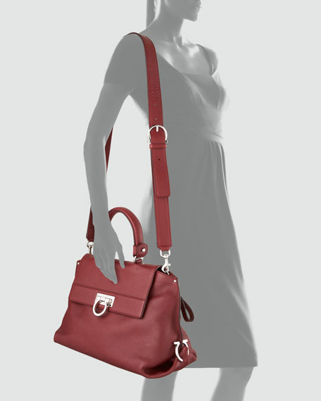 Sofia Satchel Bag, Medium