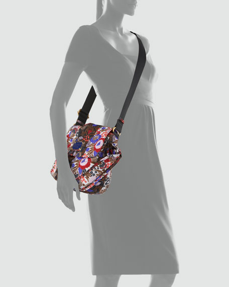 Pretty Nylon Floral Lil Ukita Shoulder Bag