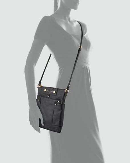 Preppy Leather Sia Crossbody Bag