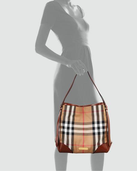 Check Tote Bag, Medium