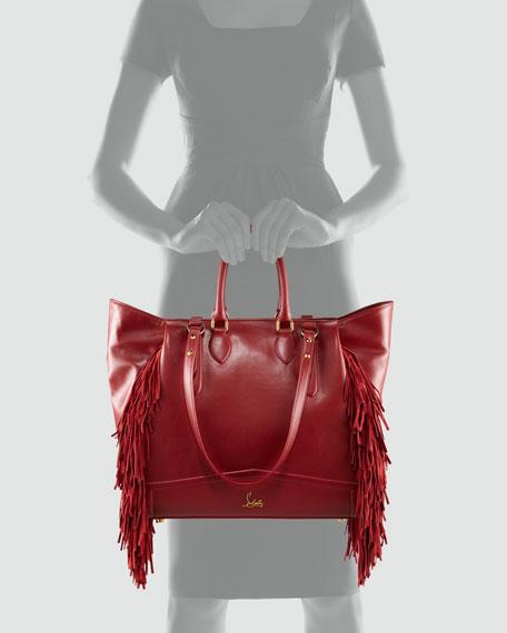 Justine Fringe Tote Bag