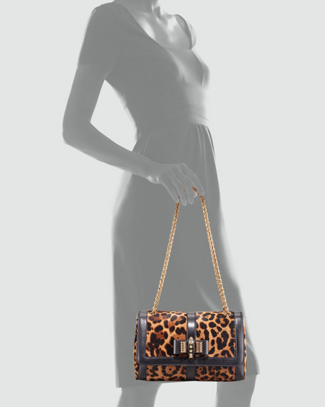 Sweet Charity Leopard-Print Shoulder Bag
