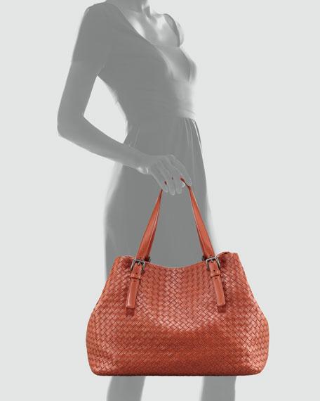 Intrecciato Cube Tote Bag