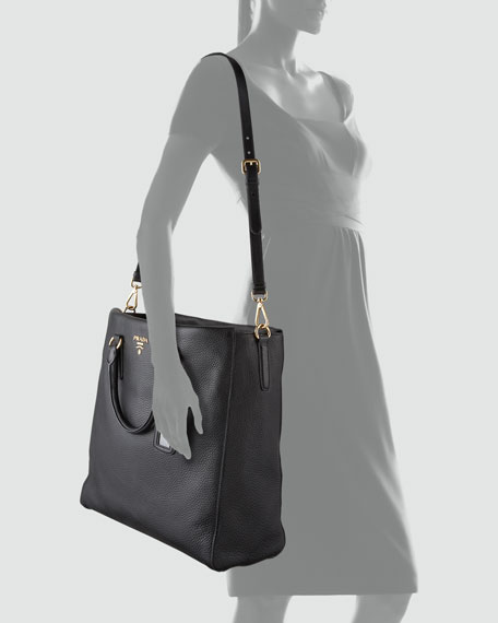 Vitello Daino North-South Tote Bag