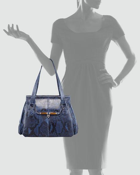Benedict Python Lady Bag