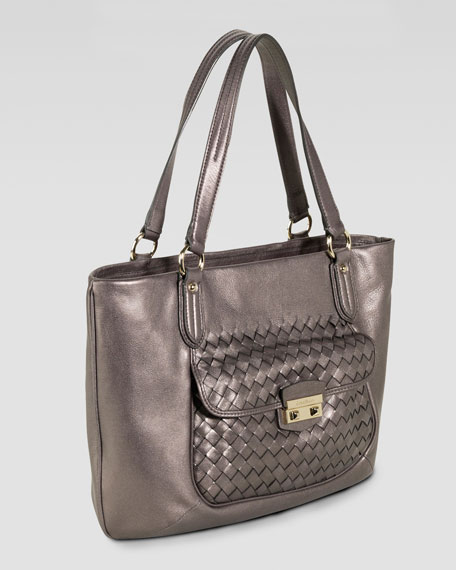 Victoria Zip-Top Tote Bag