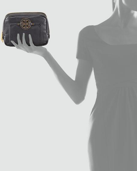 Amanda Double-Zip Cosmetic Case