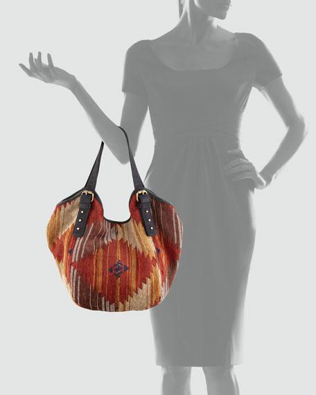 Santa Fe Ikat Classic Berkeley Bag, Mini