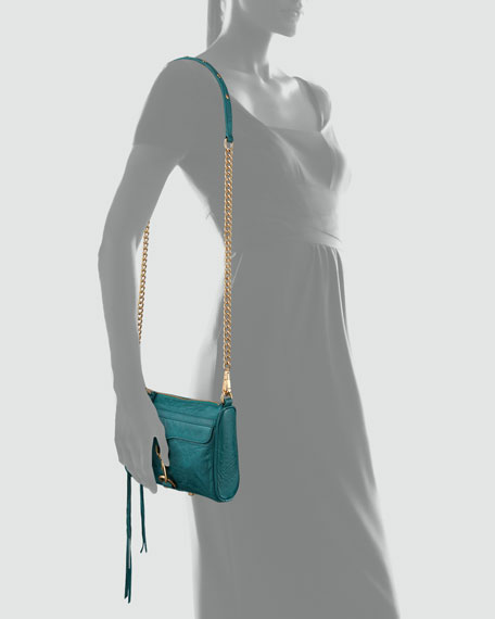 Mini M.A.C. Crossbody Bag, Teal