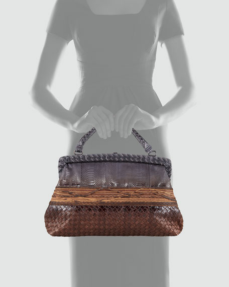 Snakeskin Canyon Bag