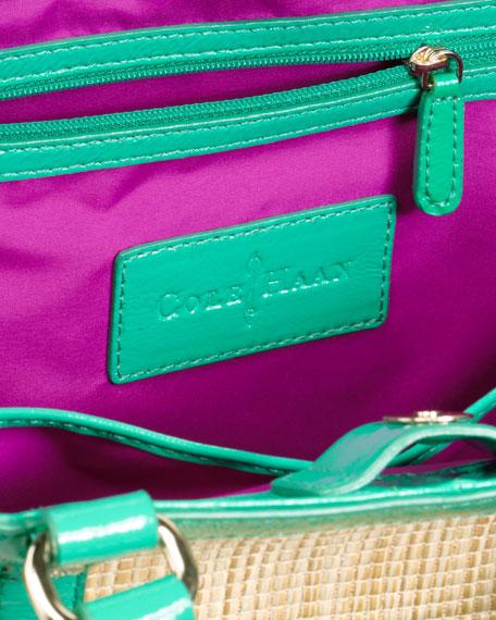 Jitney Straw Tote Bag