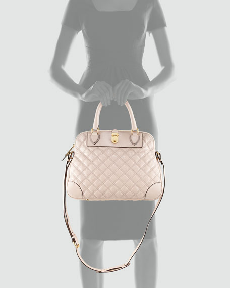 Whitney Quilted Satchel Bag