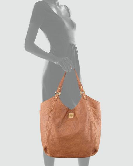 Louisa Slouchy Tote Bag, Original Tan