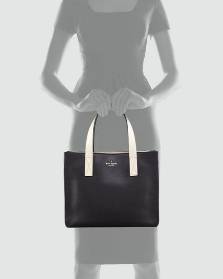 brightspot avenue grayce tote bag, black