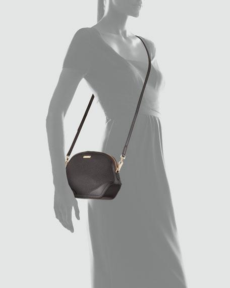 Extra Small Crossbody Bag, Dark Chocolate
