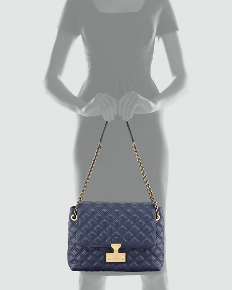 Baroque Single Extra-Large Bag, Navy