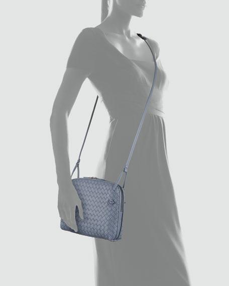 Veneta Small Crossbody Bag, Blue