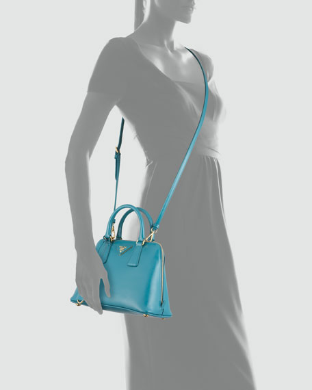 Small Saffiano Promenade Bag