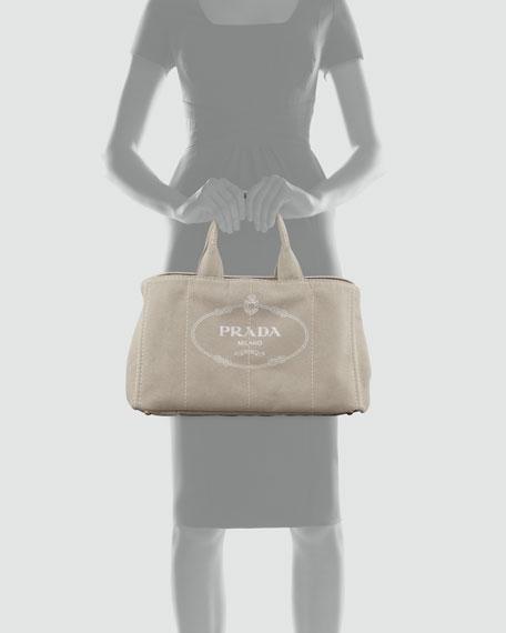 Denim Small Gardener's Tote Bag, Corda