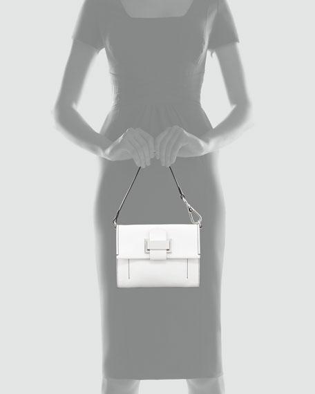 Kit Clutch Bag, Optic White