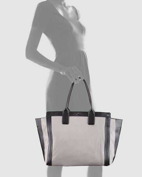Alison Tote Bag, Cashmere Gray