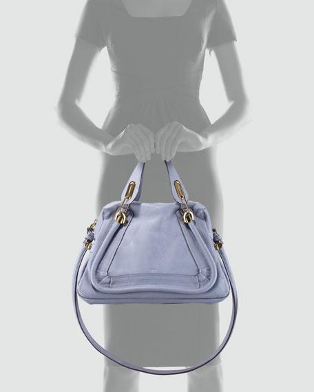 Paraty Medium Shoulder Bag, Wisteria Violet