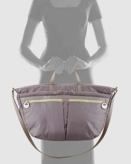 Vita Nylon Crossbody Bag