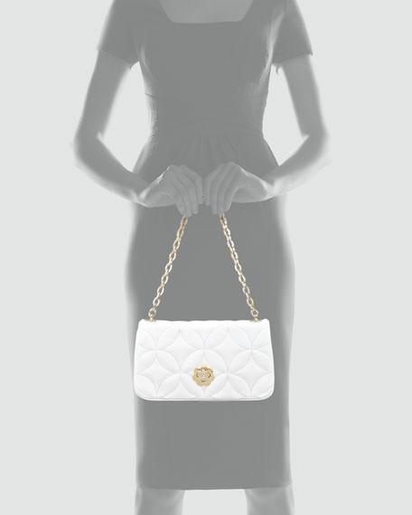 Dance Clutch Bag, White