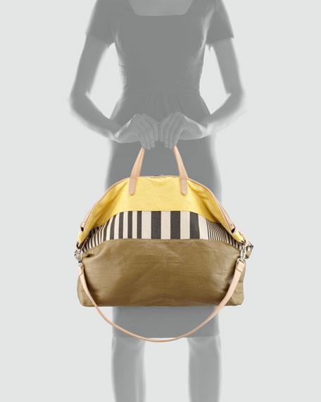 Mustard Calloway Dome Tote Bag