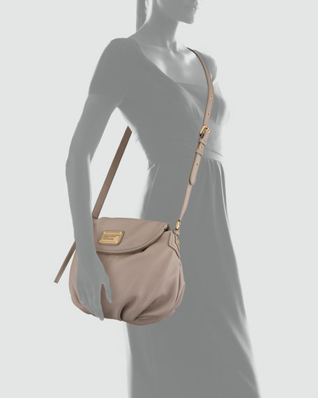 Classic Q Natasha Crossbody Bag, Gray