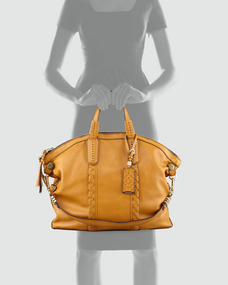 Cassie Convertible Tote Bag, Sunset Gold