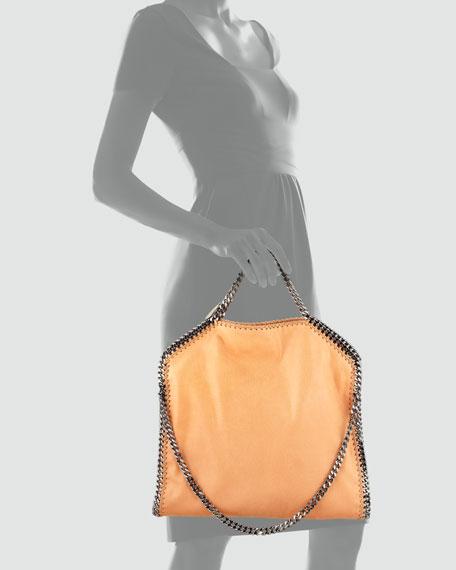 Fold-Over Falabella Shoulder Tote Bag, Orange