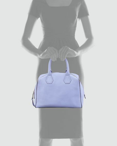 Jayden Satchel Bag, Lilac