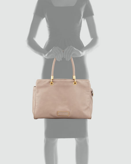 Too Hot to Handle Tote Bag, Tan