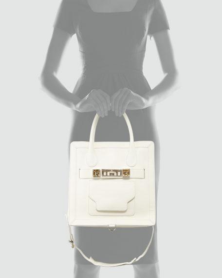 PS11 Small Tote Bag, White
