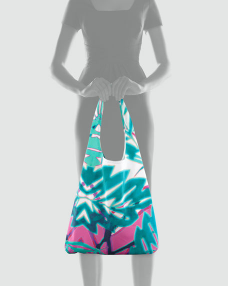 Summer Leaf Shopper Bag