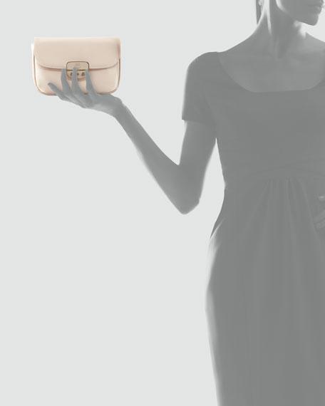Miss Wu Satin Clutch Bag