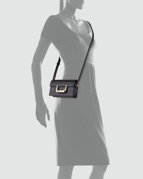Small Lulu Shoulder Bag, Black