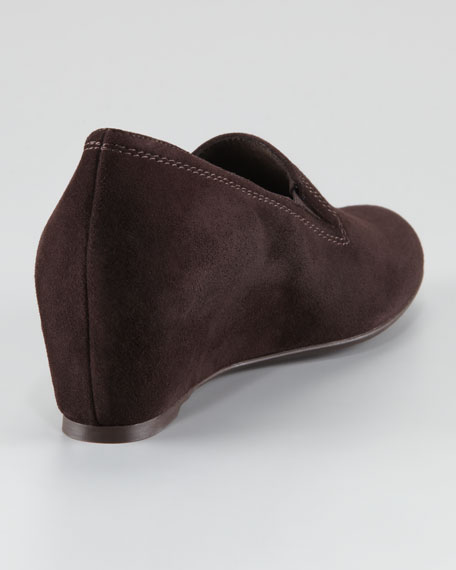 Onhold Gored Slip-On Wedge Loafer