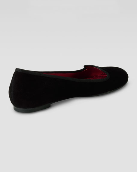 Air Morgan Smoking Slipper, Black