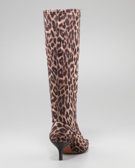 Norah Stretch Crepe Knee Boot