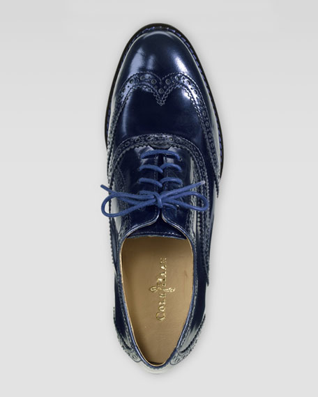 Skylar Lace-Up Oxford, Blazer Blue