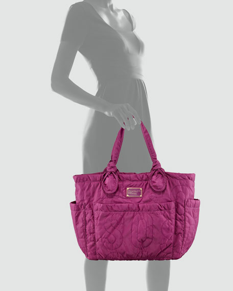 Eliz-a-Baby Pretty Bag, Dark Magenta
