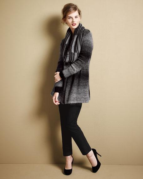 Long-Sleeve Wool Tunic, Petite