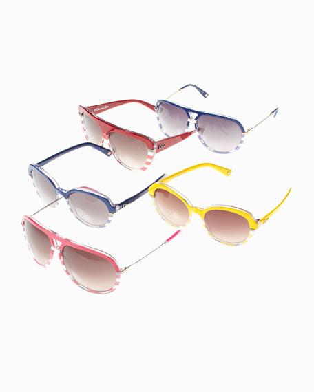 Dior Croisette Sunglasses, Red