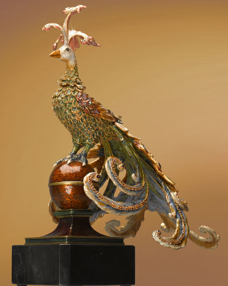 Exotic Bird Figurine