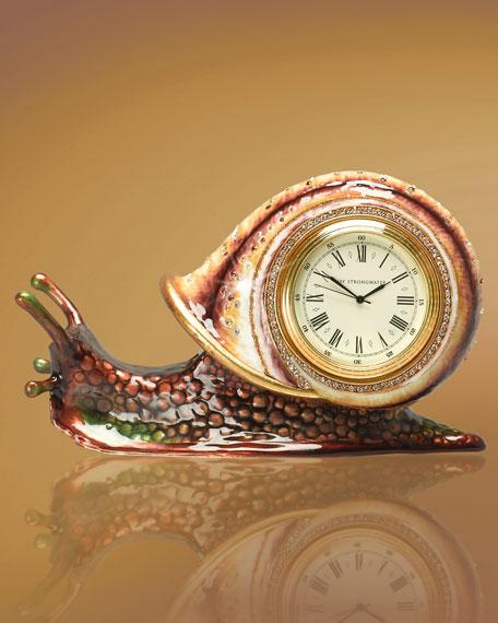 """Andree"" Snail Tape Dispenser Clock"