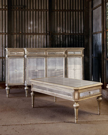 """""""Dresden"""" Mirrored Coffee Table"""