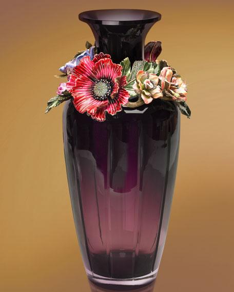 """""""Opal"""" Bouquet Vase"""